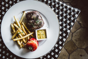 Filet Mignon and Truffle Frites